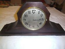 Vintage WML  Gilbert mantel clock  with Normandy Chime works 2066 mark under