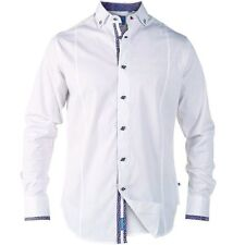 Cotton Funnel Neck Singlepack Casual Shirts & Tops for Men