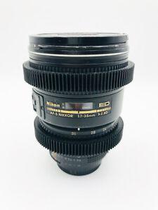 Nikon AF-S Zoom Nikkor 17-35mm f/2.8D IF-ED Lens. Japan. Silent Wave Motor.