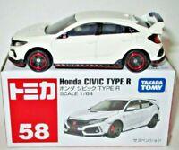 Takara Tomy HONDA CIVIC TYPE R #58 Tomytec Tomica Limited Vintage Car Model