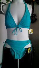 Body Glove Womens 2 Pc. Sea Breeze Bakini Top Sz.M  Bottom Sz. L NWT