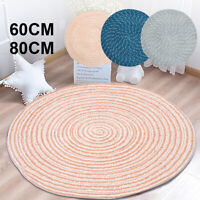 Floor Rug Mat Round Carpet Non Slip Pad Area Rug Modern Home Living Room Deco