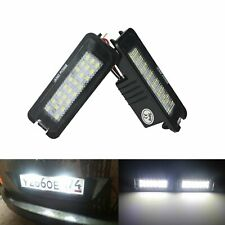 2 VW LED License Number Plate Light Golf MK4 MK5 MK6 Passat Polo CC Eos Scirocco