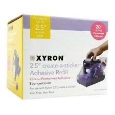 New Xyron Create-A-Sticker 250 Permanent Refill Cartridge - Free Shipping