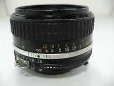 Nikon Nikkor 50mm 1:18 Lens