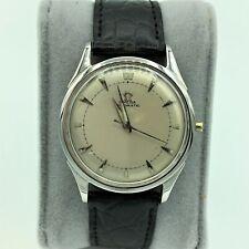 Vintage 1951 Omega Cal 351 Swiss Automatic 17J Unadj Mens Wrist Watch #12097114