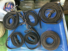 """New listing Antique Stable Leather Strap 6 pcs 5' - 10' foot long, 1/2"""" - 1"""" wide; Fast S&H"""