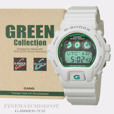 Authentic Casio G-Shock Men's Green Collection Solar Power Digi-Watch G-6900EW-7