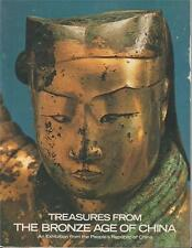Treasures From Bronze Age of China 1980 Exhibition Book Lavish Color Photography