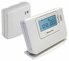 Honeywell CM727 RF Programmable Room Thermostat - White