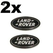 2X EMBLEMA LOGO LAND ROVER RANGE ROVER FREELANDER DISCOVERY SPORT DEFENDER