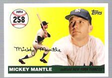 MICKEY MANTLE HOME RUN HISTORY 2007 TOPPS ~Home Run #258~ CARD!!