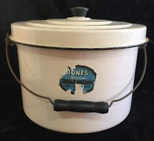 Vintage Jones Specialized Hospital Surgical Pink diaper pail With Cover EUC!!!