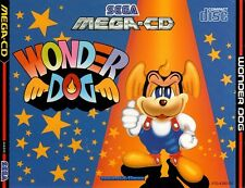 # wonder Dog-sega Mega-CD/Mcd jeu-top #