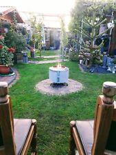 1x Feuerschale  Terrassenofen Waschmaschinentrommel Feuerkorb Gartenkamin  Grill