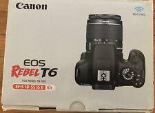 CANON EOS REBEL T6 Brand New (open box)