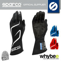 001308 SPARCO LAND RG-3 RG3 RACING GLOVES SUEDE INSERTS FIA 8856-2000 FIREPROOF