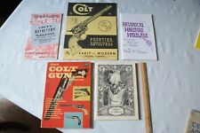 COLT GUN BOOKS:Colt Fire Arms,The Colt Gun Book, Historic Colts, Gun Collector