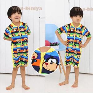 KIDS BABY BOYS TODDLERS SUIT SWIMWEAR SWIMMING COSTUME Size 2-6 SMK01