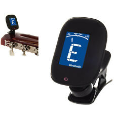 NEW LCD CLIP ON CHROMATIC ACOUSTIC ELECTRIC GUITAR BASS UKULELE BANJO TUNER