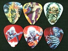 Iron Maiden Eddie Guitar Pick Set of 6 Collectible Live Tour Memorabilia Gift
