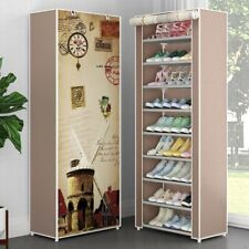 Easy To Install Multi Layers Shoe Rack Nonwoven Fabric Shoes Storage Organizer