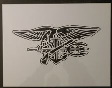 US United States USA U.S. Navy Seal Trident Custom Stencil FAST FREE SHIPPING