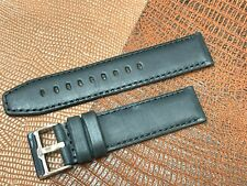 HORWEEN GENUINE LEATHER WATCH BAND 22MM WWII ARCADIA STEEL BUCKLE