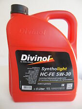 Divinol Syntholight HC-FE 5W-30 1 x 5 Liter 49260 Motorenöl Öl Mercedes BWM 5L