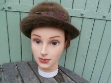 Chapeau Vintage feutrine Femme Pierre AidenBaum Paris taille 52/54 environ