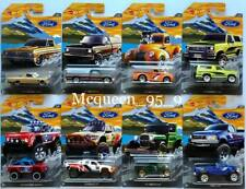 HOT WHEELS 2018 WALMART EXCLUSIVE FORD TRUCK SERIES SET 8 CAR
