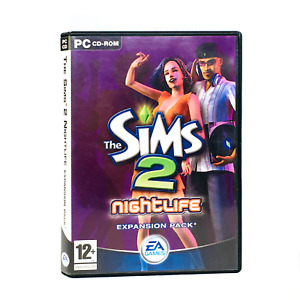 The Sims Nightlife Expansion Pack PC Game With Manual