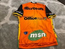 VTG Microsoft Cycling Jersey Shirt Office 2000 Pearl Izumi XL CE MSN Rare Window