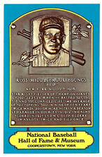 ROSS YOUNGS 1979 Dexter Press HOF Plaque post card