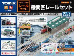Tomix 91036 Fine Track Engine Depot Rail Set (N scale)