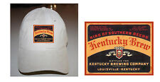 KENTUCKY BREW BEER LABEL BALL CAP LOUISVILLE