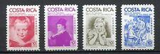 35389) COSTA RICA 1977 MNH** Paintings 4v Scott# RA73/76