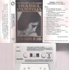 ISABEL PANTOJA   En el capote de seda  año 1984 DIFICIL CASSETTE COLECCIONISTAS