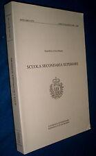 Scuola secondaria superiore annuario 1997/1998 Repubblica di San Marino