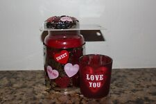 Yankee Candle Candy Hearts Illuma Lid & Holders~New 2020~Valentine's Day~