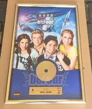 beFour Gold Award - goldene Schallplatte - All4One - 2007 Musikpreis Pop N´Roll