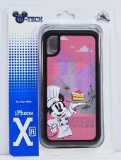 Disney 2019 Epcot Food Wine Festival Chef Minnie Black Apple Iphone XR Case NEW