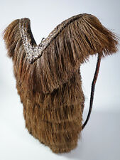 "Authentic Vintage Ifugao Rattan Hunter's Backpack ""Inabnutan"" Luzon Philippines"
