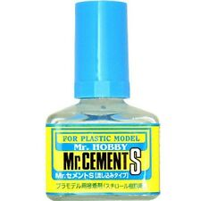 MR HOBBY Gunze MC129 Cement Glue S Extra Thin Non-Corrosive 40ml MODEL KIT TOOL