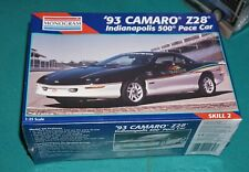 '93 Camaro Z28 Indy 500 Pace Car AMT 1/25 Factory Sealed.