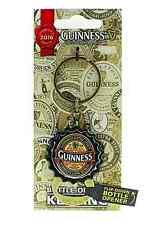 Guinness Bottle Cap keyring/flip down bottle opener 2016 collectors (sg 5412)