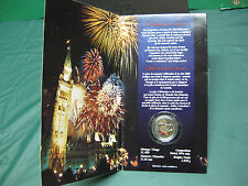 2000 Colourized Celebration Canadian Quarter $0.25 **SEALED**