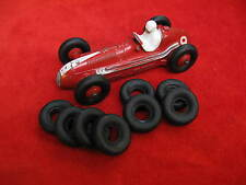 Racer Treaded Tires for Dinky Toys, black, 20mm, Foden and Racers, Lot of 8
