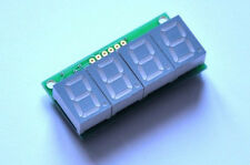 7 segment LED display - Blue