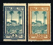 FRENCH GUIANA - GUYANA FRANCESE - 1929 - Segnatasse